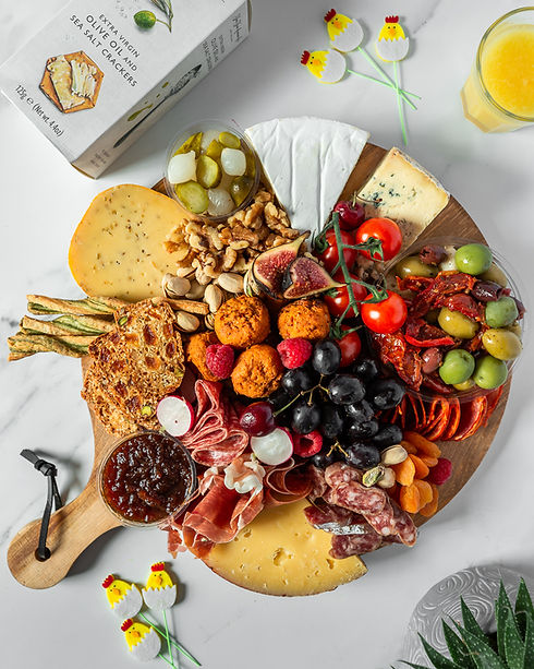 Easter Savoury Grazing Board
