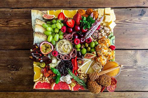 luxury grazing platter