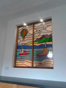 Morecambe Bay scenic window