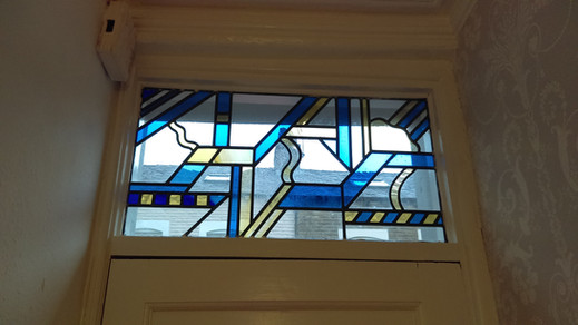 Contemporary window.