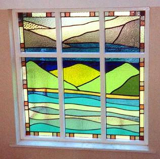 Lake District window.