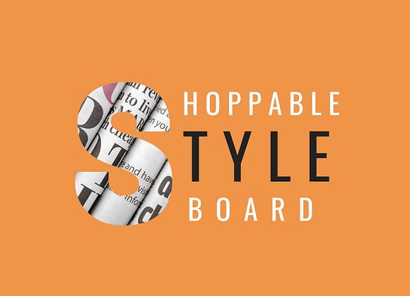 Shoppable StyleBoard