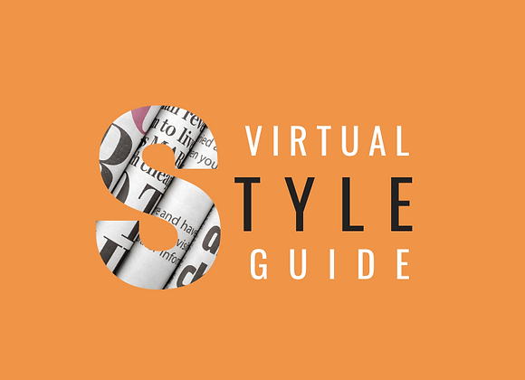 Virtual Style Guide  (2hr)