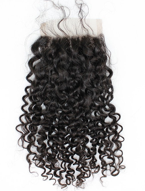Brazilian Lace Closure - Curly