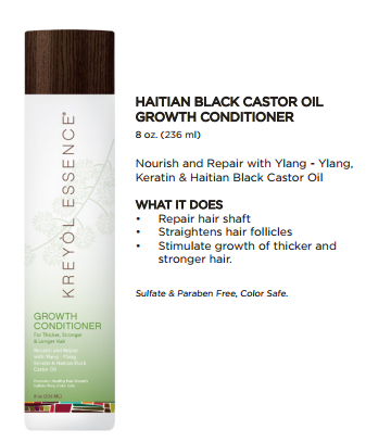 Haitian Black Caster Oil - Growth Conditioner