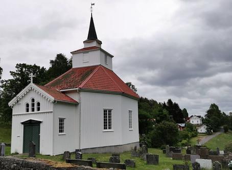 Gudstjeneste i Mykland kirke 7. juni
