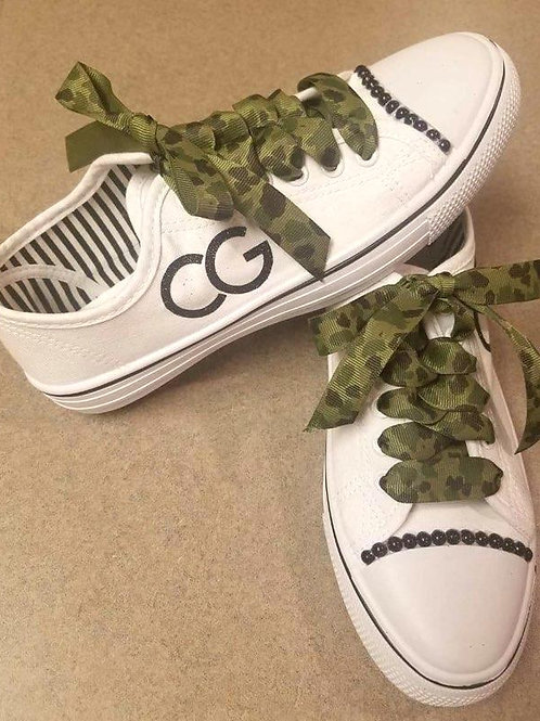 CG Blinged Out Tennis Shoes