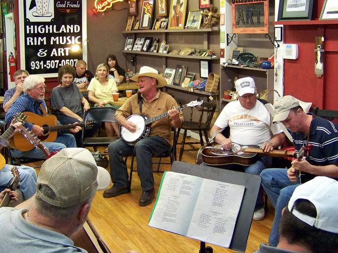 Bluegrass jam-2