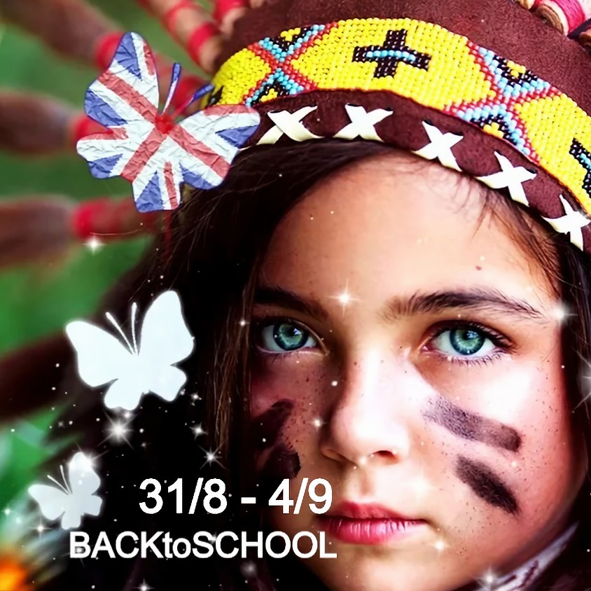 10% OFF - BACK TO SCHOOL  31/08 - 4/09