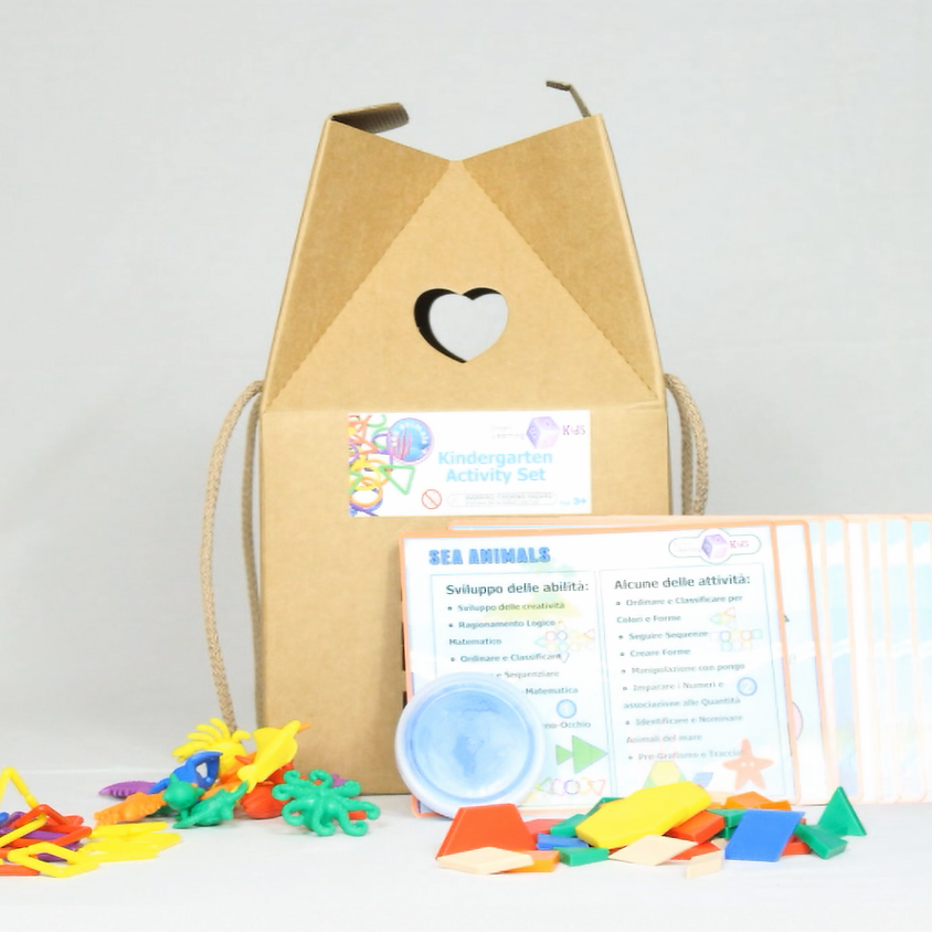 SMART LEARNING BOX for Kids - KIT and COURSE