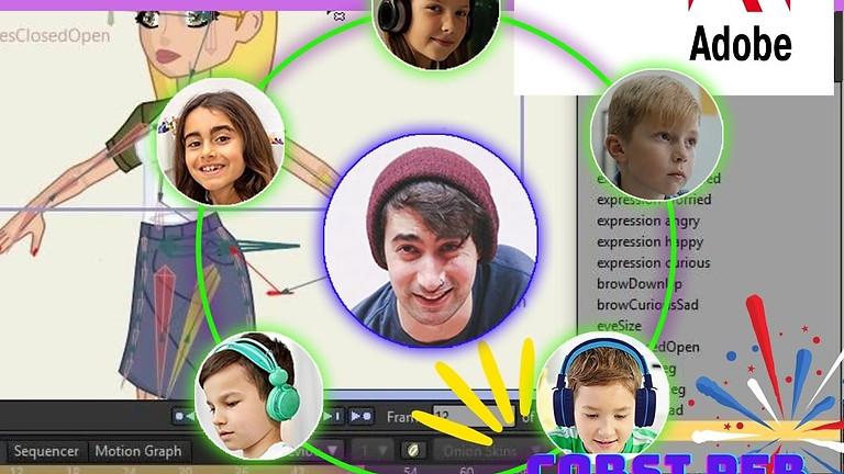 ADOBE animation - Virtual Tech Camp Voucher