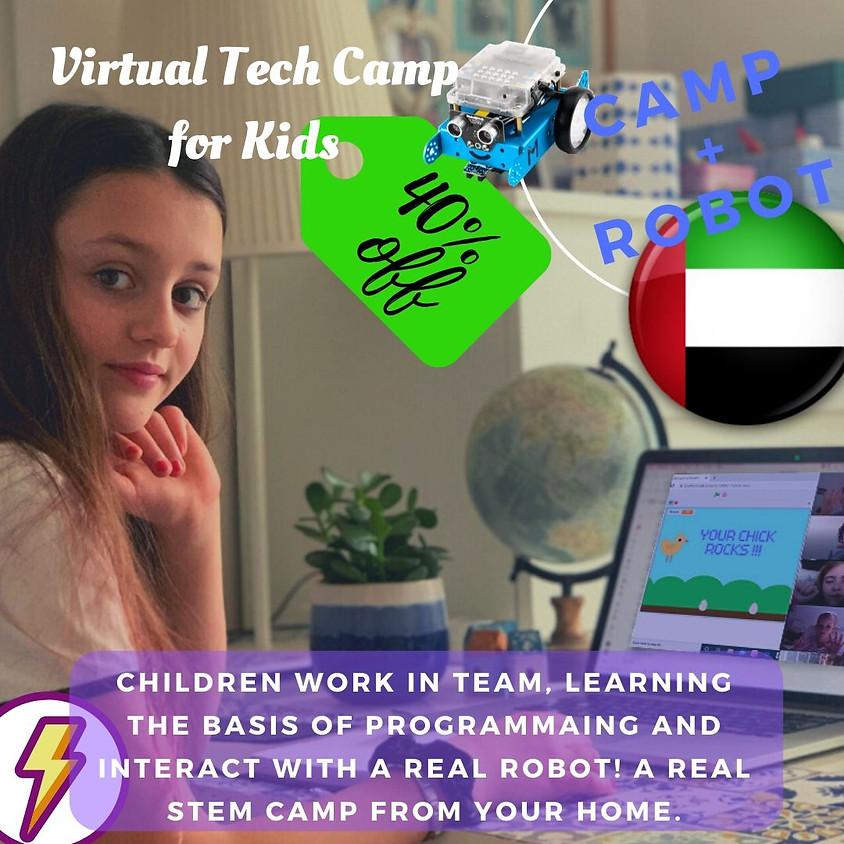 40% OFF - FLASH OFFER - ROBOTIC CAMP for kids UAE.