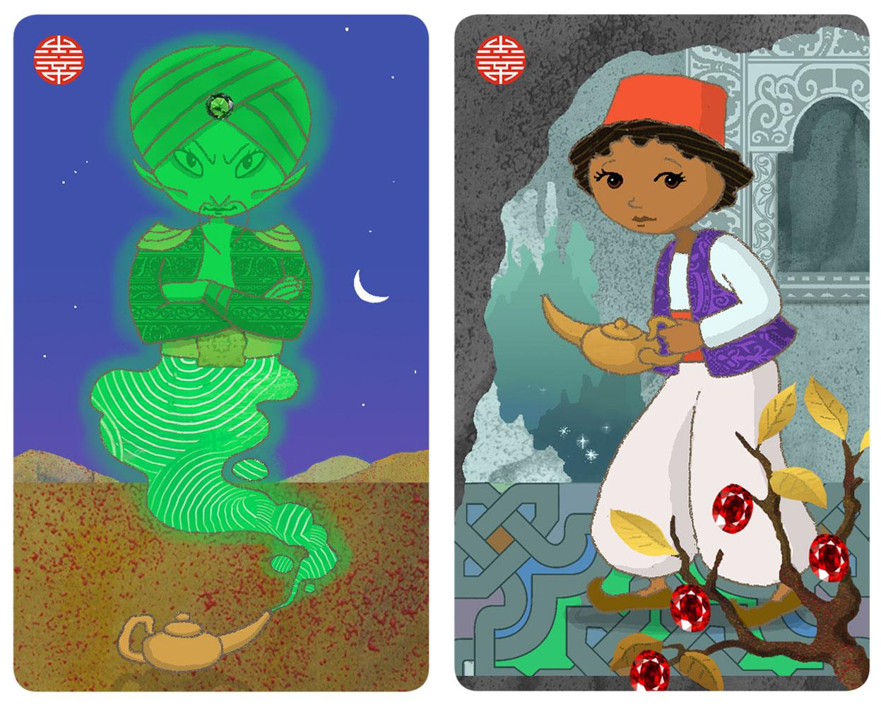 Spielkarten/Aladin und die Wunderlampe