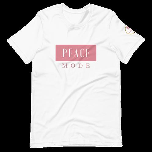 Peace Mode Tee- Rose Gold