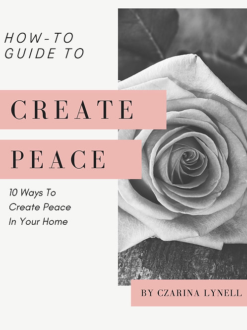 eBook: 10 Ways To Create Peace