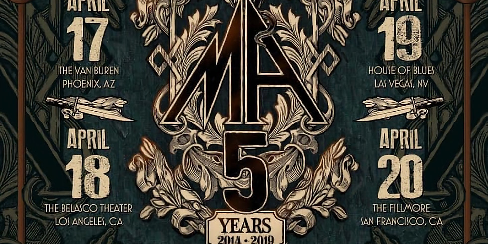 Superfix with Metal Allegiance 5th Anniversary Tour