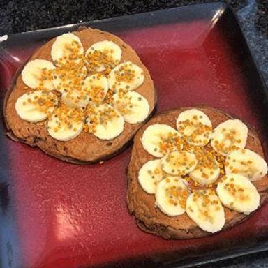 Hot-cakes Choco-Plátano