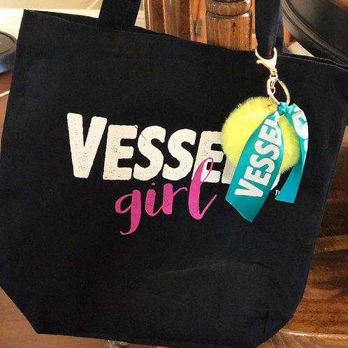 VESSELS Girl Tote Bag
