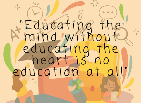 Educate the Heart First.