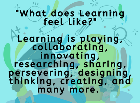 What does Learning Mean to You?