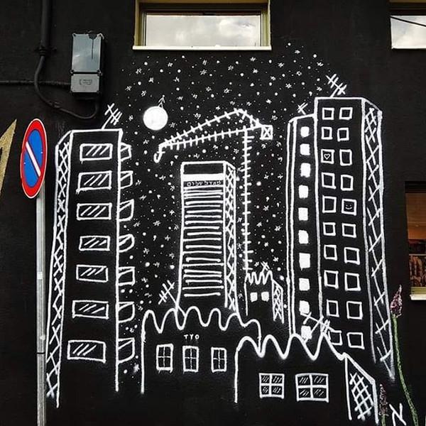 #new #ALEF #STREETART #mural at @dsiboni