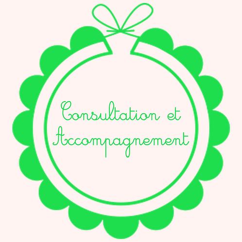 Consultation + accompagnement un mois