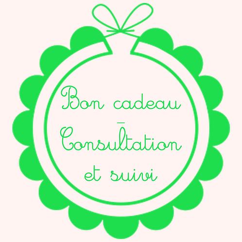 Bon cadeau - consultation et suivi