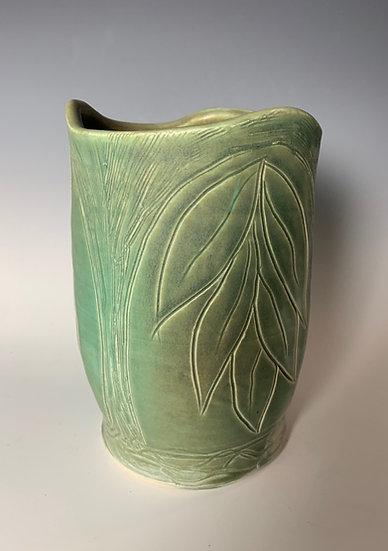 Undulating Rim Vase