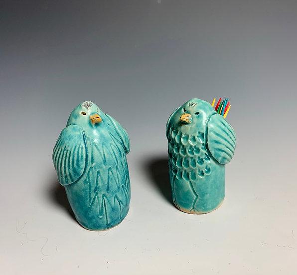 Bird Toothpick Holders