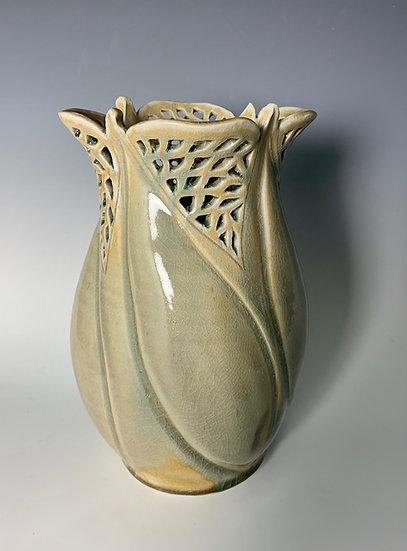 Pierced Vase