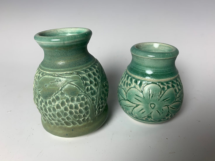 Carved Small Vase