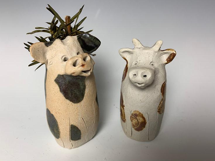 Little Cow Vase