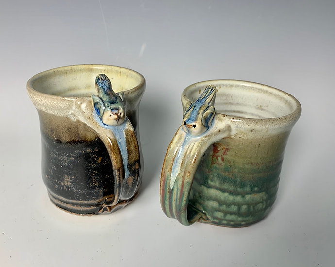 Bird Handled Mug