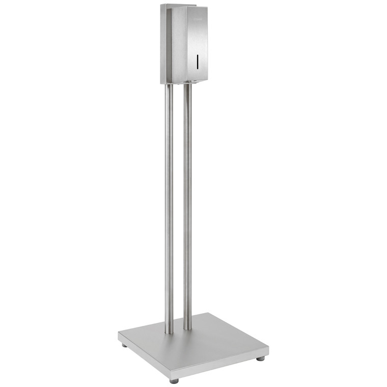 Hygienestation Standmodell mit Sensor-Desinfektionsmittelspender WP 102e-7S