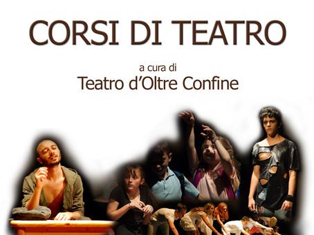 CORSI DI TEATRO  2017 - 2018
