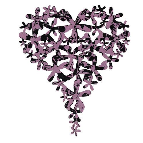 Purple Heart Wall Art
