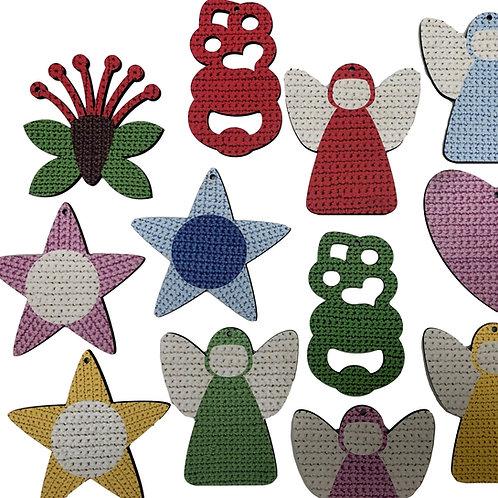 Crochet Pohutukawa Decoration