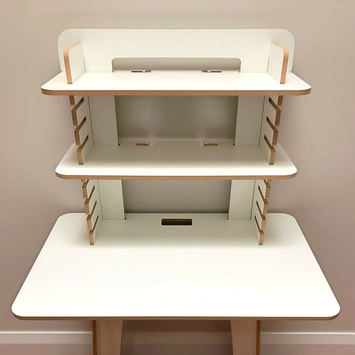 Sit Stand Flatpack Desk