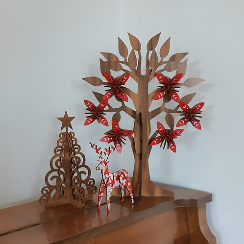 Pohutukawa Flower Tree