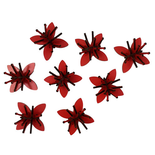 Mini Pohutukawa Flower