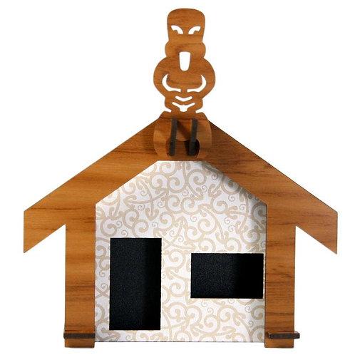 Wood & Koru Wharenui (boxed)