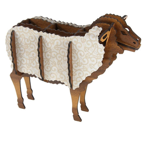 Wood & Koru Sheep Kitset