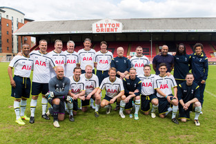 WANNA PLAY AGAINST THE Tottenham Hotspur LEGENDS?