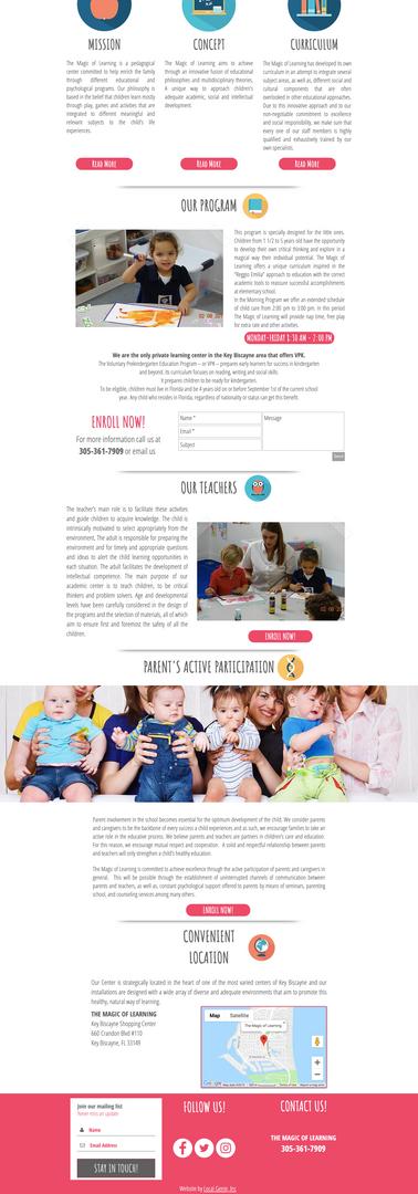 The Magic of Learning Preschool