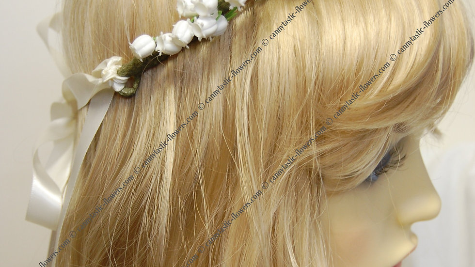 Lily of the valley headdress-HC007