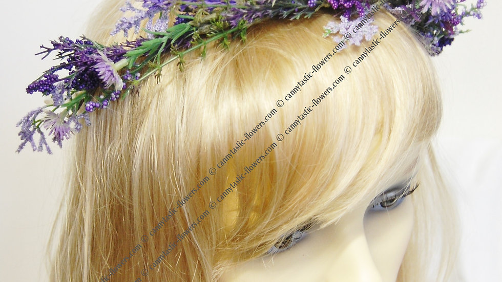 Heather headdress HC009