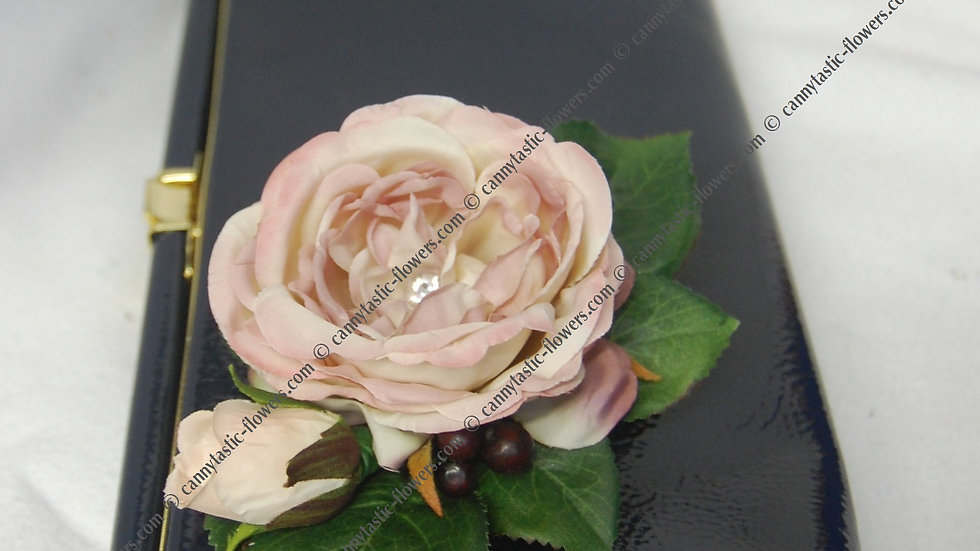 Antique style rose corsage-CR018