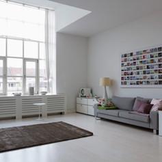 Espace salon - appartement Florimont