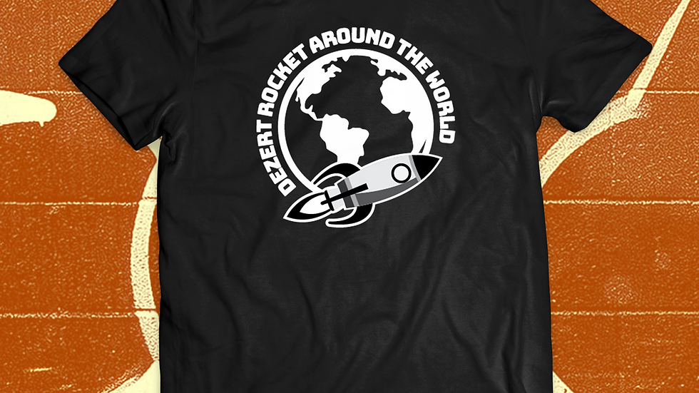 Dezert Rocket Around the World Tee