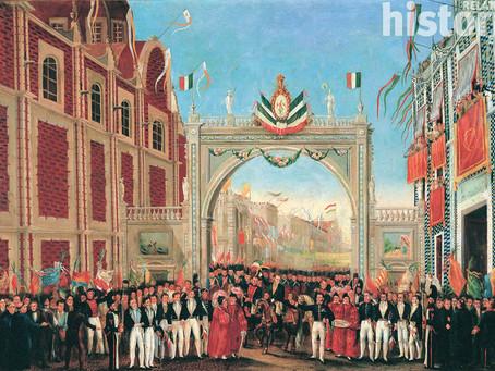 El efecto dominó que causó la independencia de México